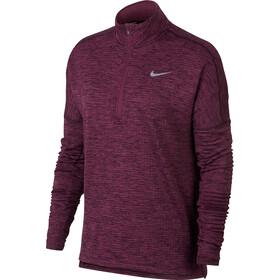 Nike Therma Sphere Element Halfzip Top Damen port wine/heather